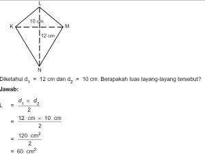 Trapesium Dan Layang Layang Matematika Kelas 5 Sd